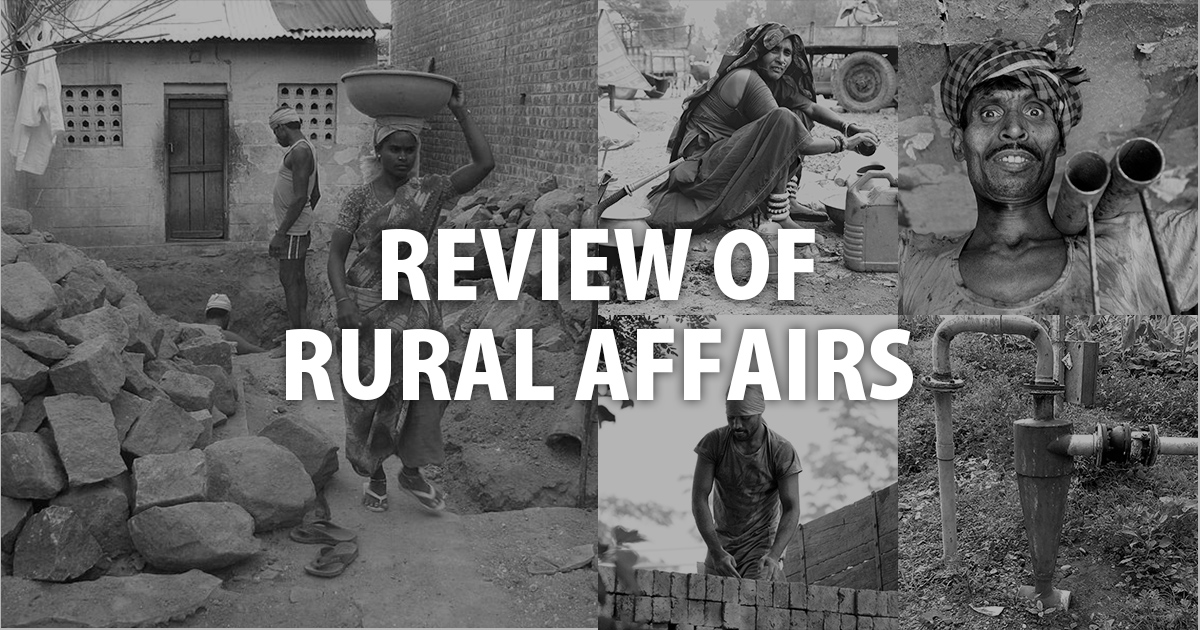 Review of Rural Affairs | Economic and Political Weekly
