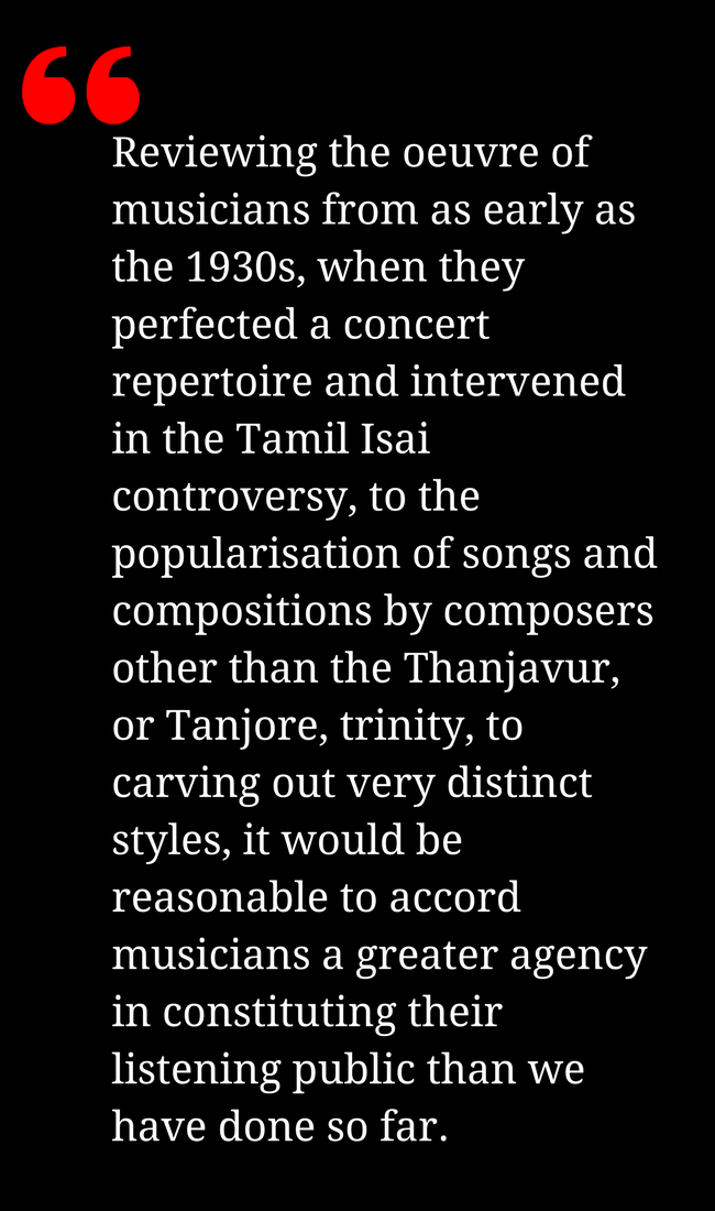 Does Art Have a Caste? A Debate on Carnatic Music | Economic and